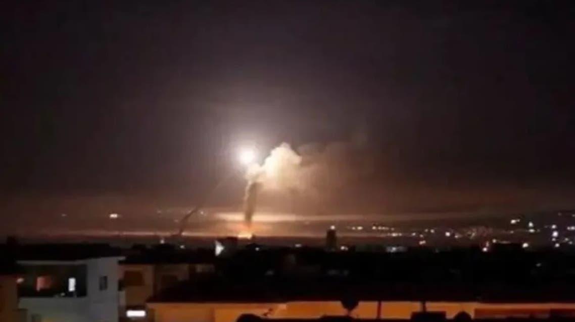 غارة إسرائيل على دمشق