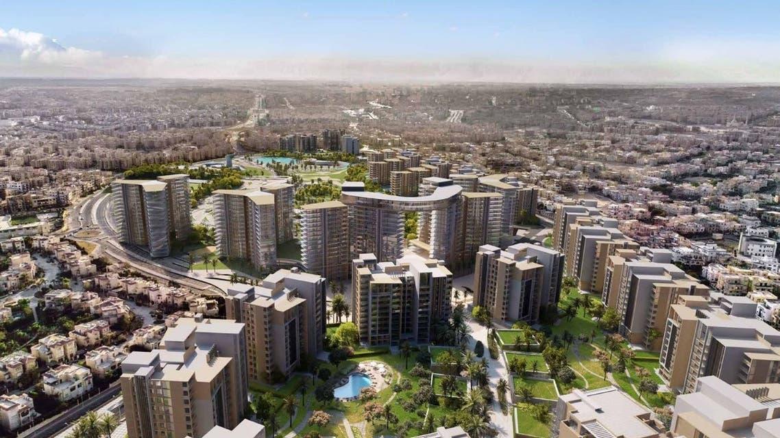 المخطط العام لأبراج زيد غرب القاهرة