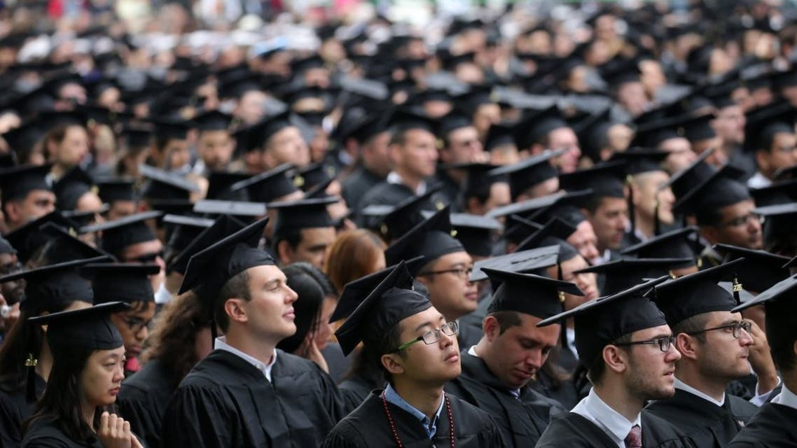 Students during their graduation ceremony at a US university. (File Photo)
