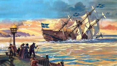 هكذا غرقت أقوى سفينة حربية سويدية بعد دقائق من إبحارها!
