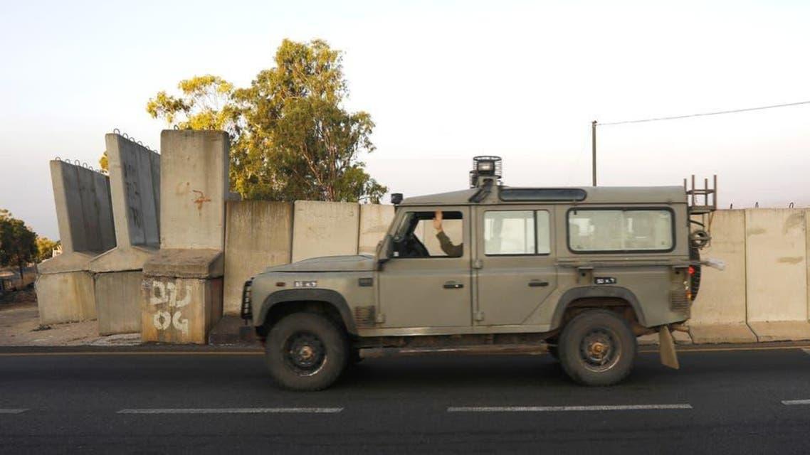 اسرائیلی فوجی گاڑی