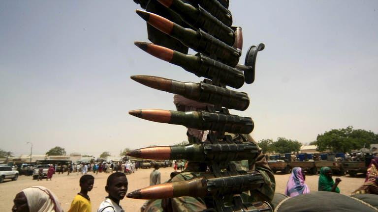 رجل مسلح في السودان (رويترز- أرشيفية)