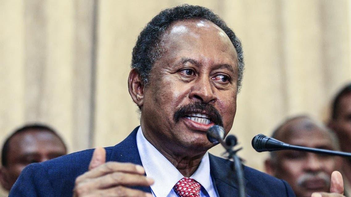 Sudan's new Prime Minister Abdalla Hamdok. (AFP)