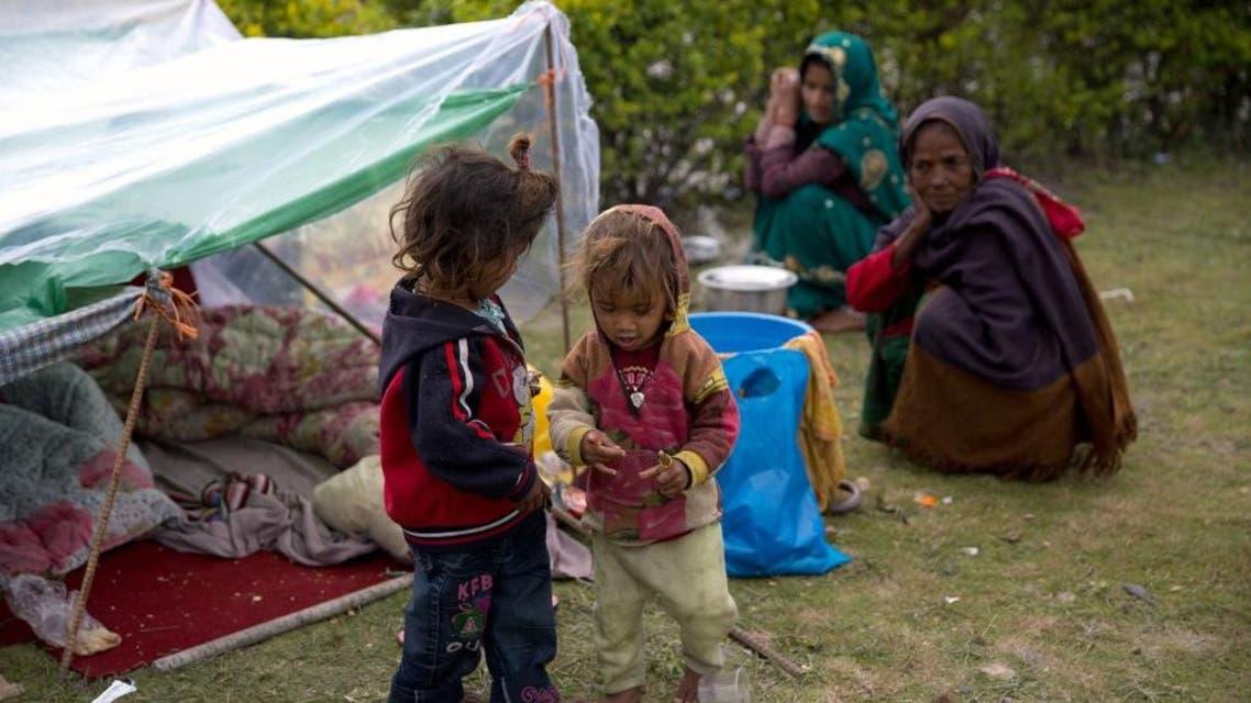 Nepalese children AFP