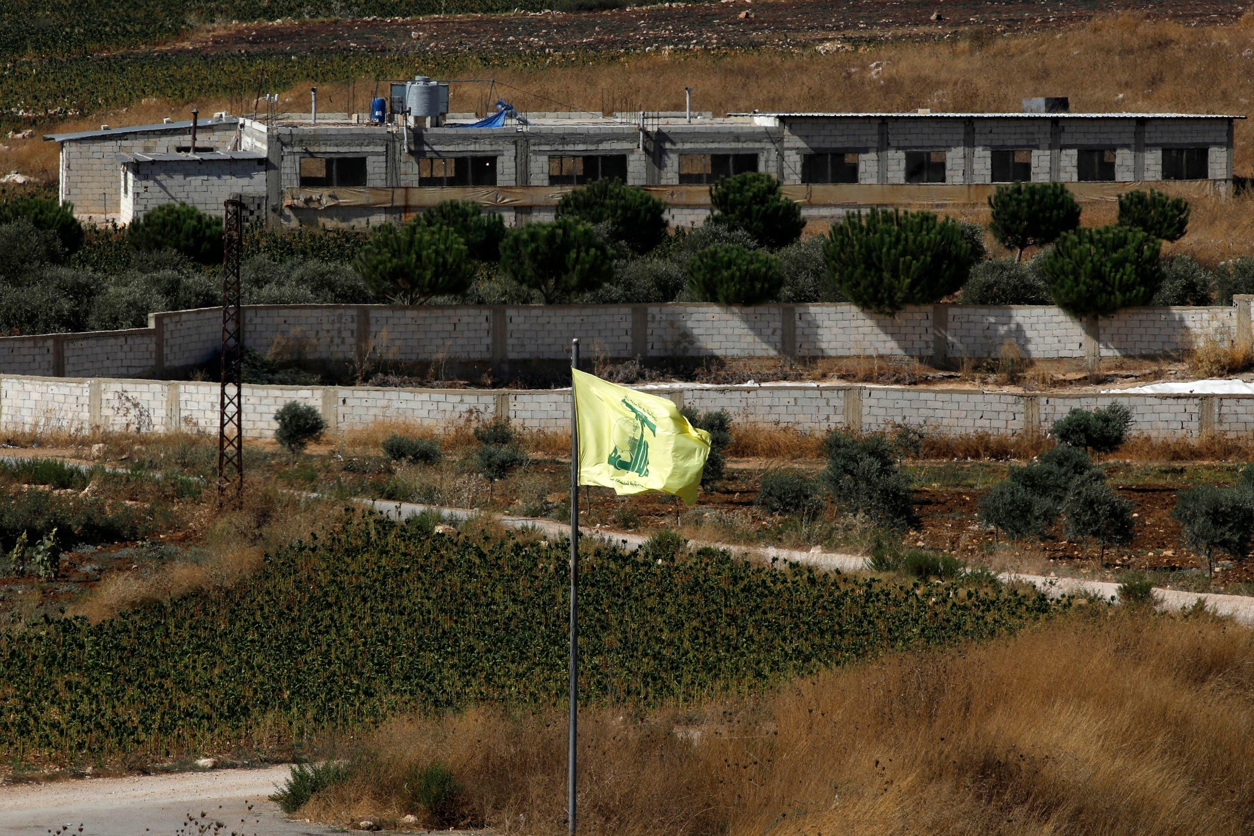 مرز لبنان و اسرائیل (AFP)