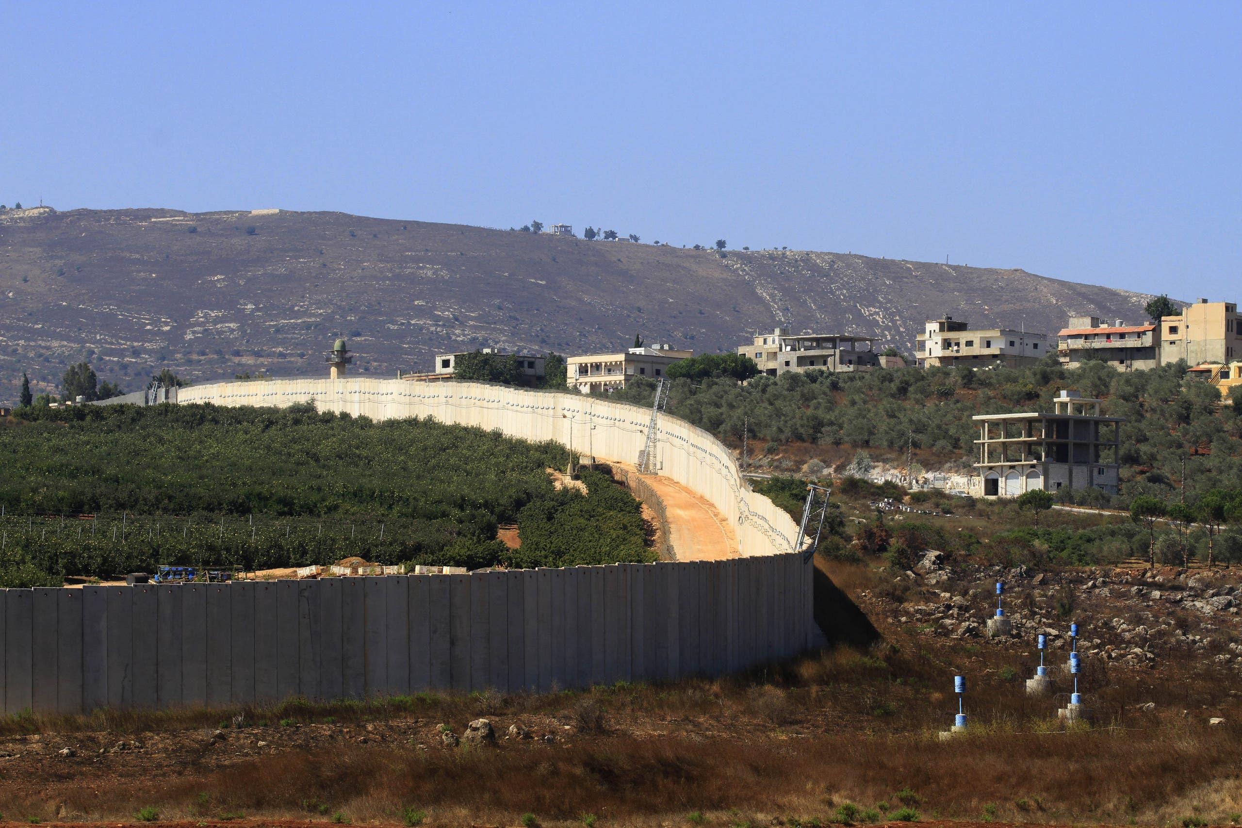 الحدود اللبنانية الإسرائيلية (فرانس برس)