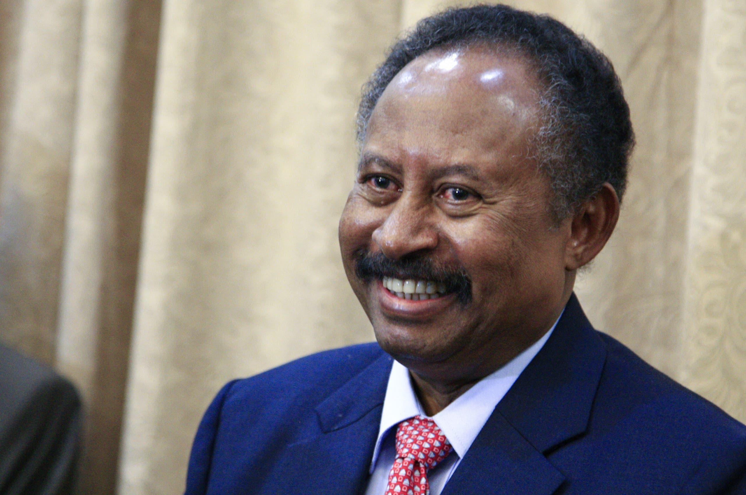 رئيس الحكومة السوداني المكلف عبد الله حمدوك