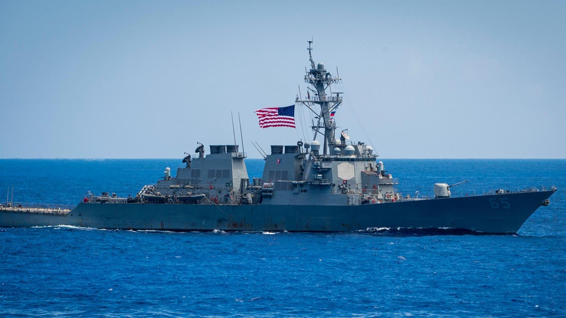 US Destroyer Benfold - Reuters