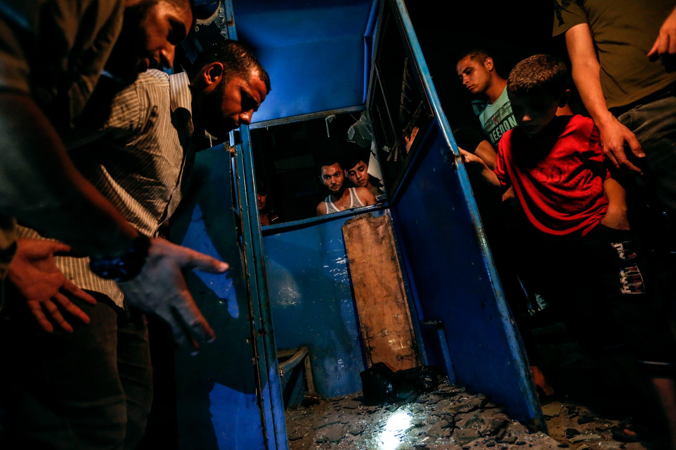 من قطاع غزة (فرانس برس)