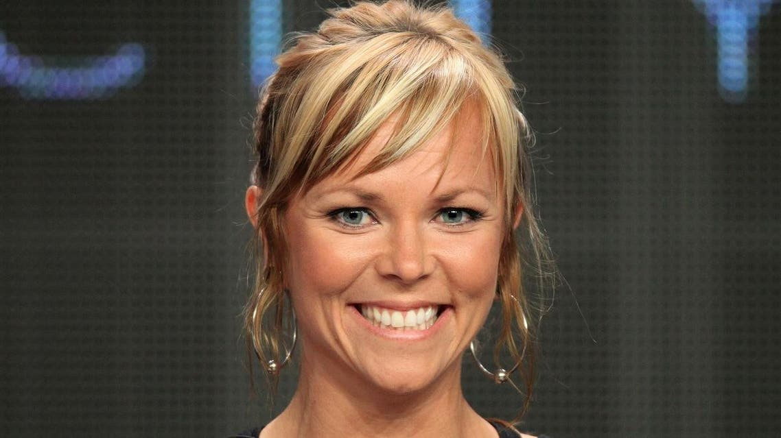 """File photo of Jessi Combs, host of the television series """"All Girls Garage.""""  (AFP)"""