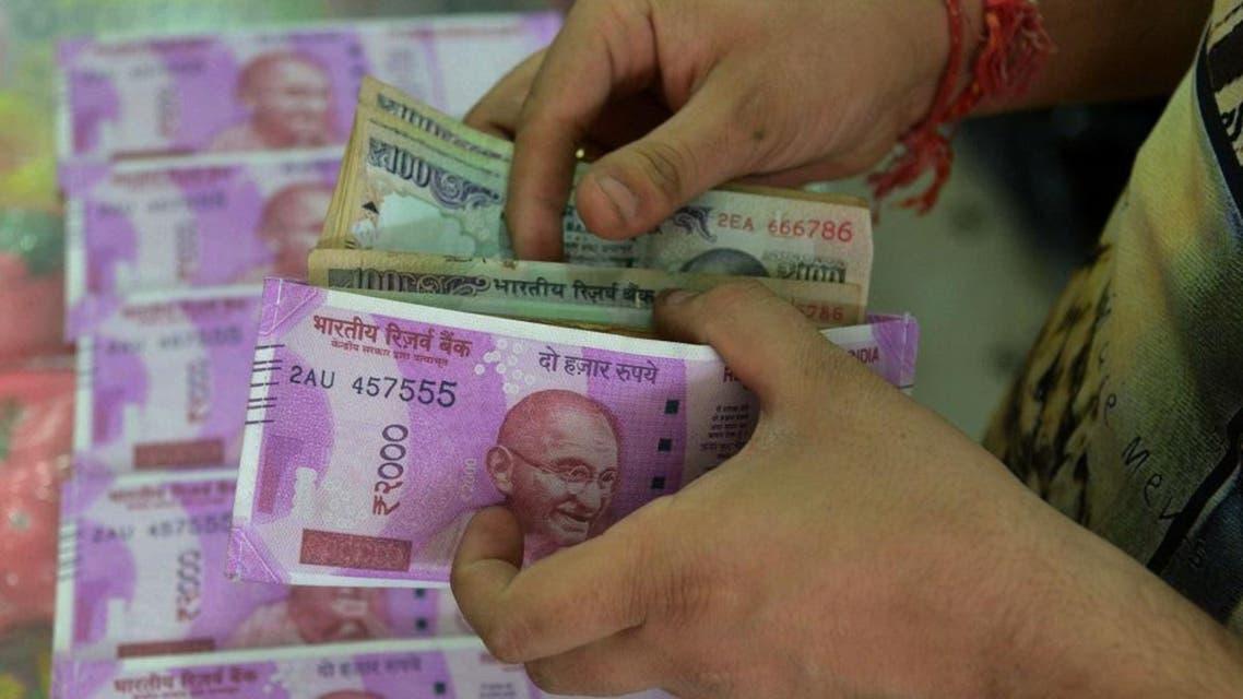 indian rupee afp