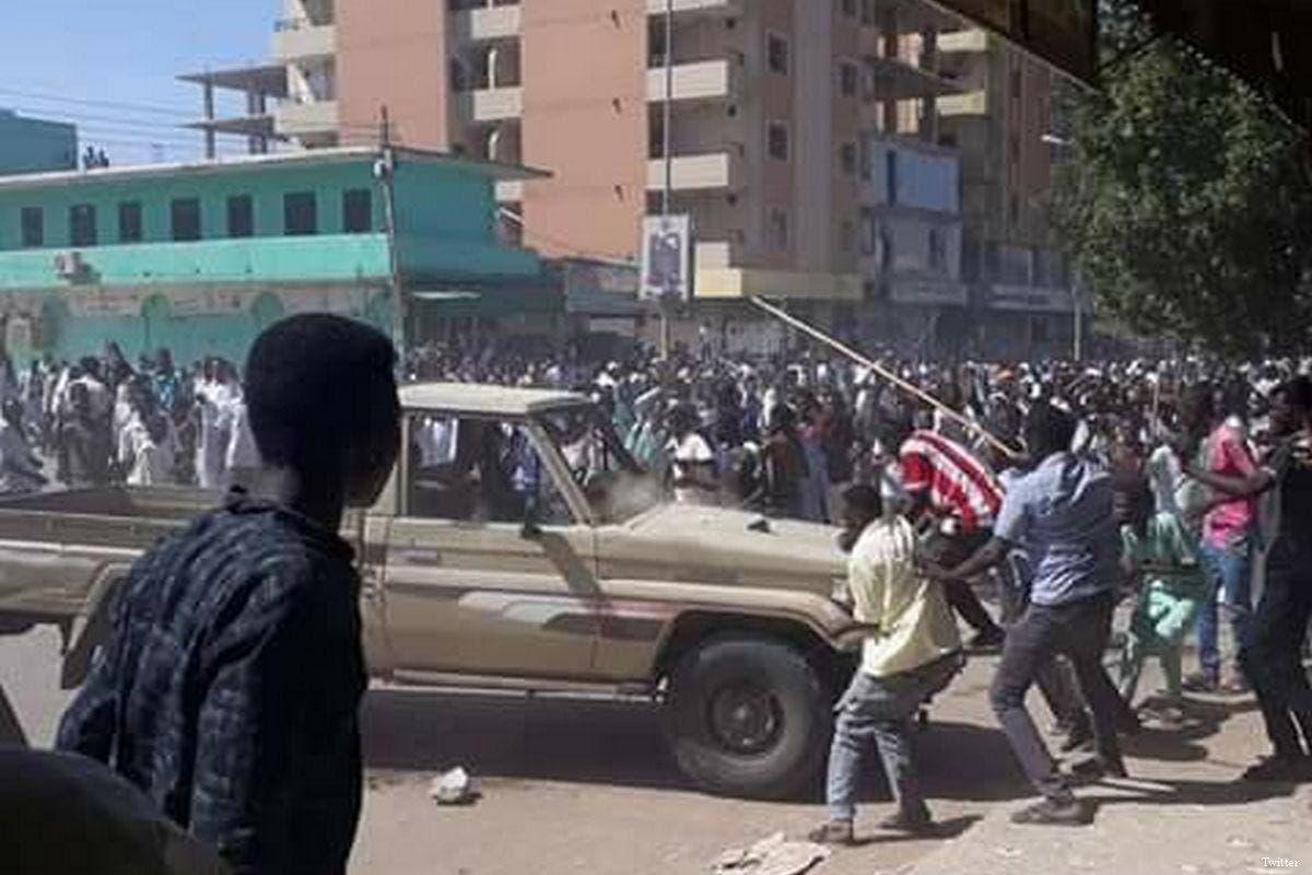 اشتباكات في السودان (تعبيرية)