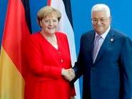 ميركل تؤكد على أهمية حل الدولتين قبل محادثات مع عباس