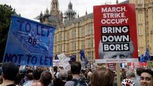 UK petition against suspending parliament passes one million signatures