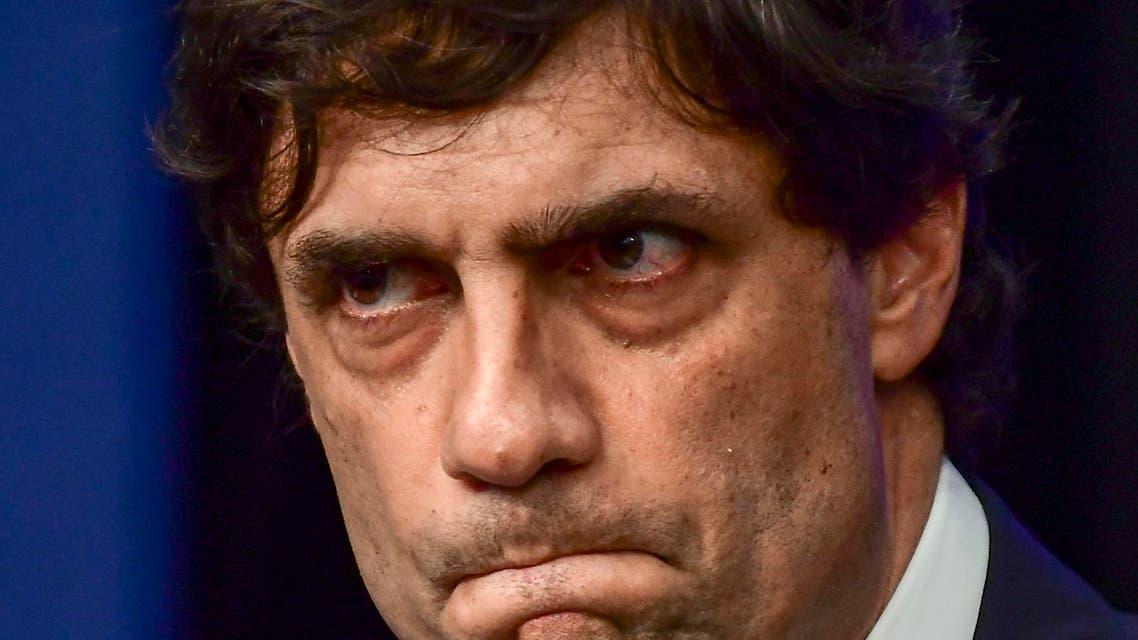 Argentina finance minister Hernan Lacunza - AFP