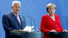 Merkel meets Palestinians' Abbas for talks in Berlin