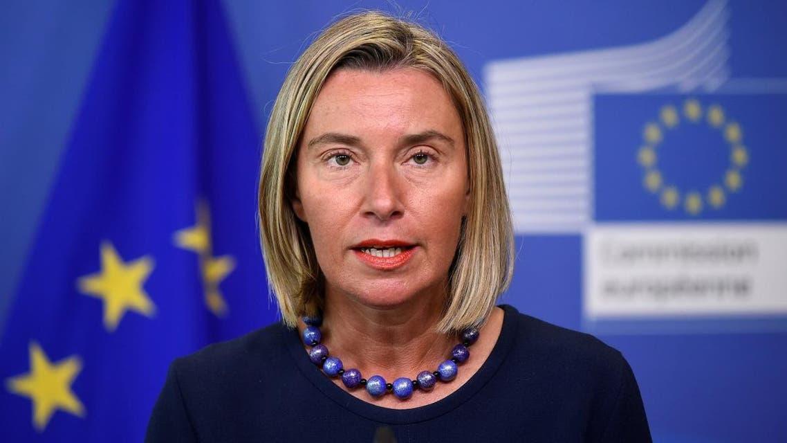 EU diplomatic chief Federica Mogherini. (AFP)