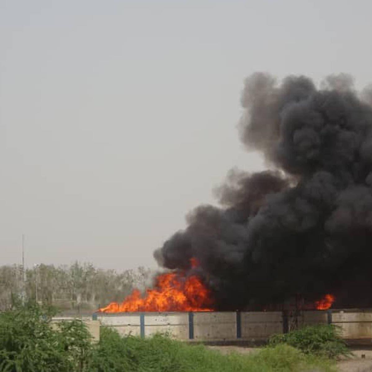 تدمير مخزن للطيران الحوثي بالحديدة.. ومقتل قيادي بارز