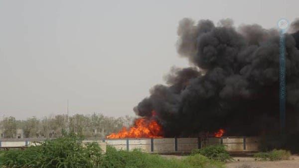 اليمن.. انفجار مخزن سلاح واحتراق آليات حوثية في الحديدة