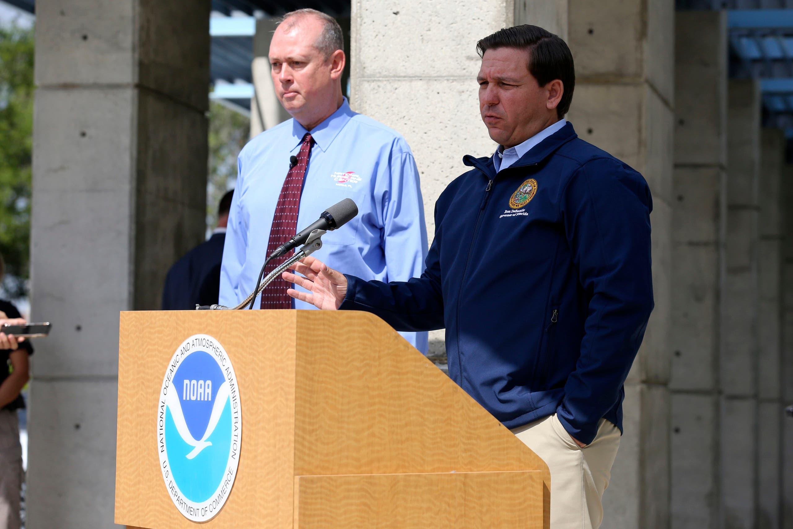 حاكم فلوريدا يعلن الطوارئ بكافة مقاطعات الولاية