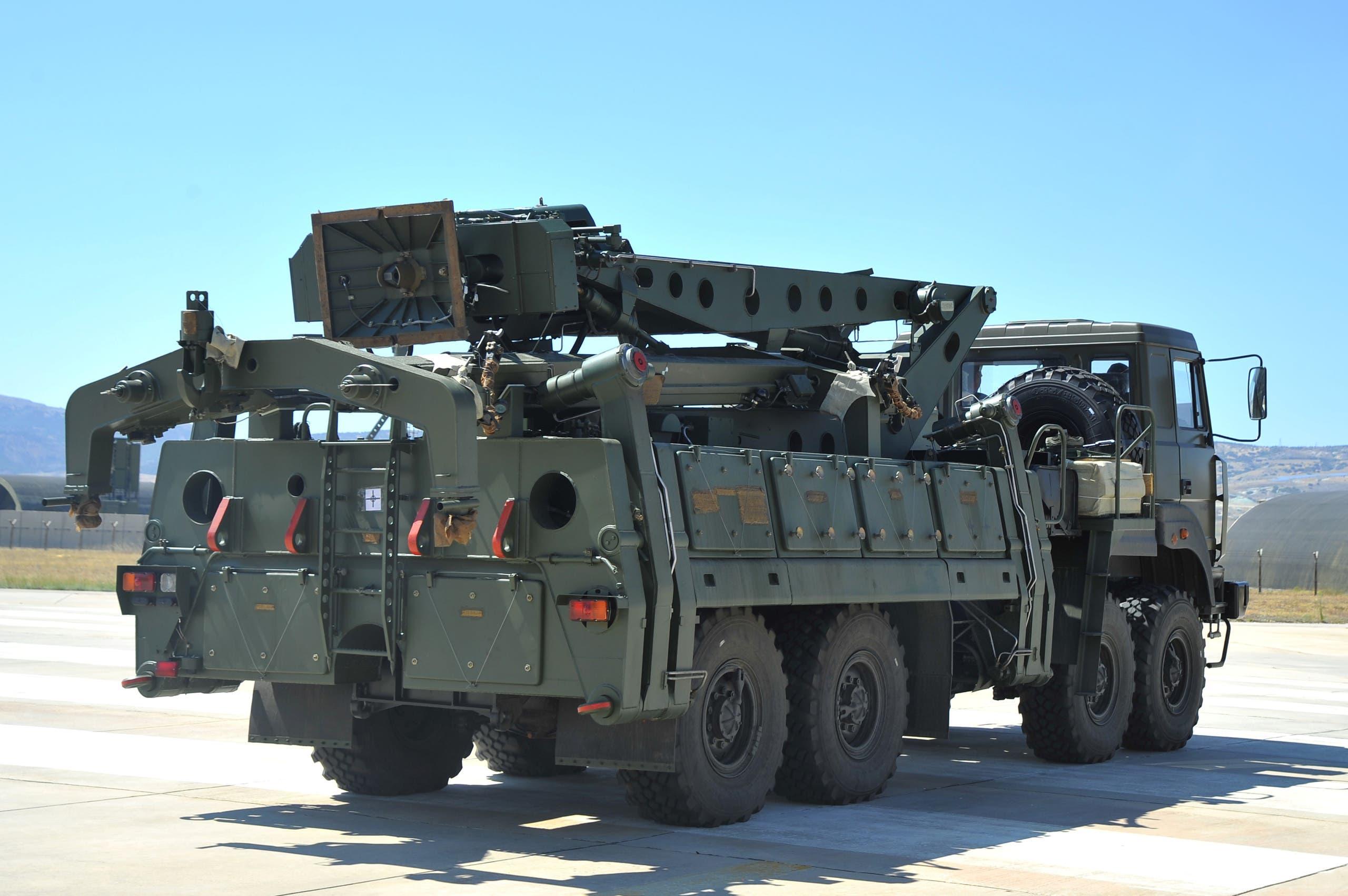 """أجزاء من منظومة """"إس-400"""" الروسية وصلت العام الماضي إلى تركيا"""