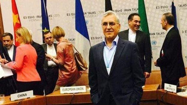 عبدالرسول درّي أصفهاني مع فريق إيران التفاوضي