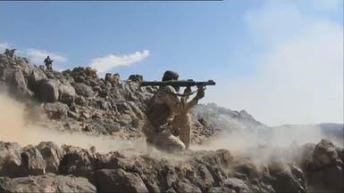 صعدة.. الجيش اليمني يدمر رتلاً حوثياً ومصرع قيادي ميداني