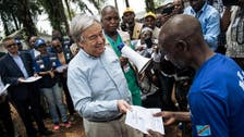 UN chief visits Congo region hit by Ebola; pledges support