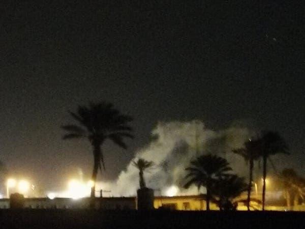 الجيش الليبي يشنّ غارات على مواقع الوفاق بمطار معيتيقة