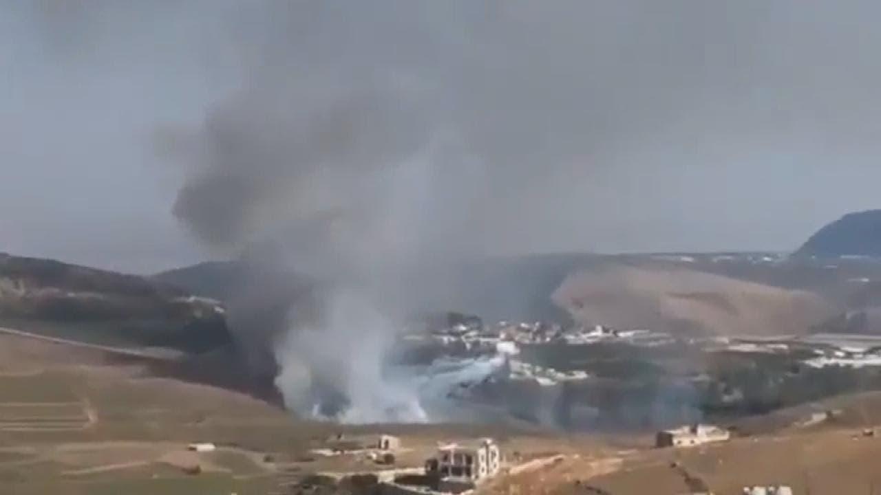 اسرائیلی فوج اور حزب اللہ کے درمیان گذشتہ اتوار کو فائرنگ کا تبادلہ ہوا تھا۔