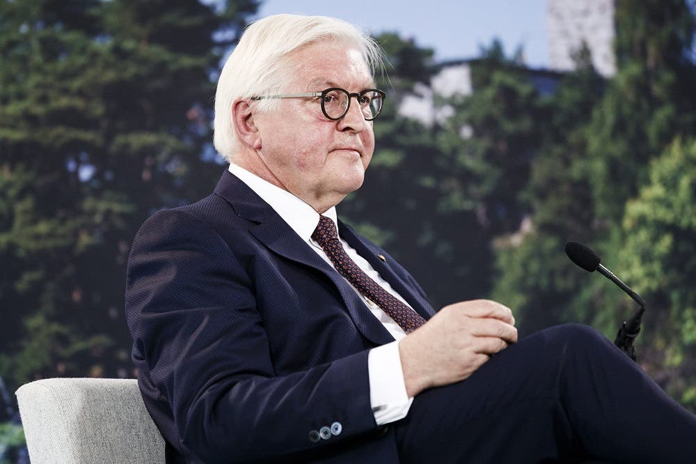 German President Frank-Walter Steinmeier. (File photo: AFP)