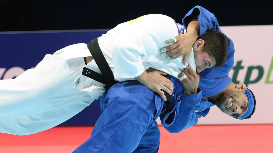 Saeid Mollaei Judo Tokyo - AP