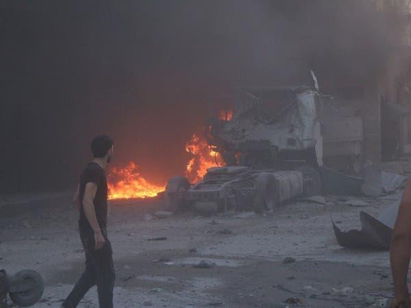 إدلب.. قوات النظام تخرق مجدداً وقف النار