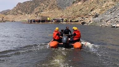 حادثة غدير البنات.. 5 ساعات لانتشال جثة رجل غريق