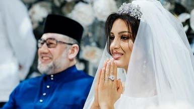 طليقة ملك ماليزيا تكشف تفاصيل صادمة عن نسب طفلها