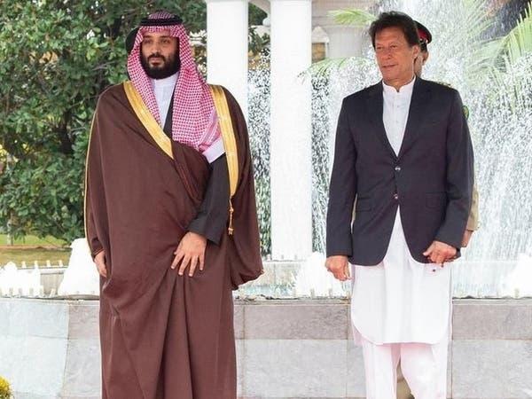 محمد بن سلمان يبحث مع عمران خان الأوضاع في المنطقة