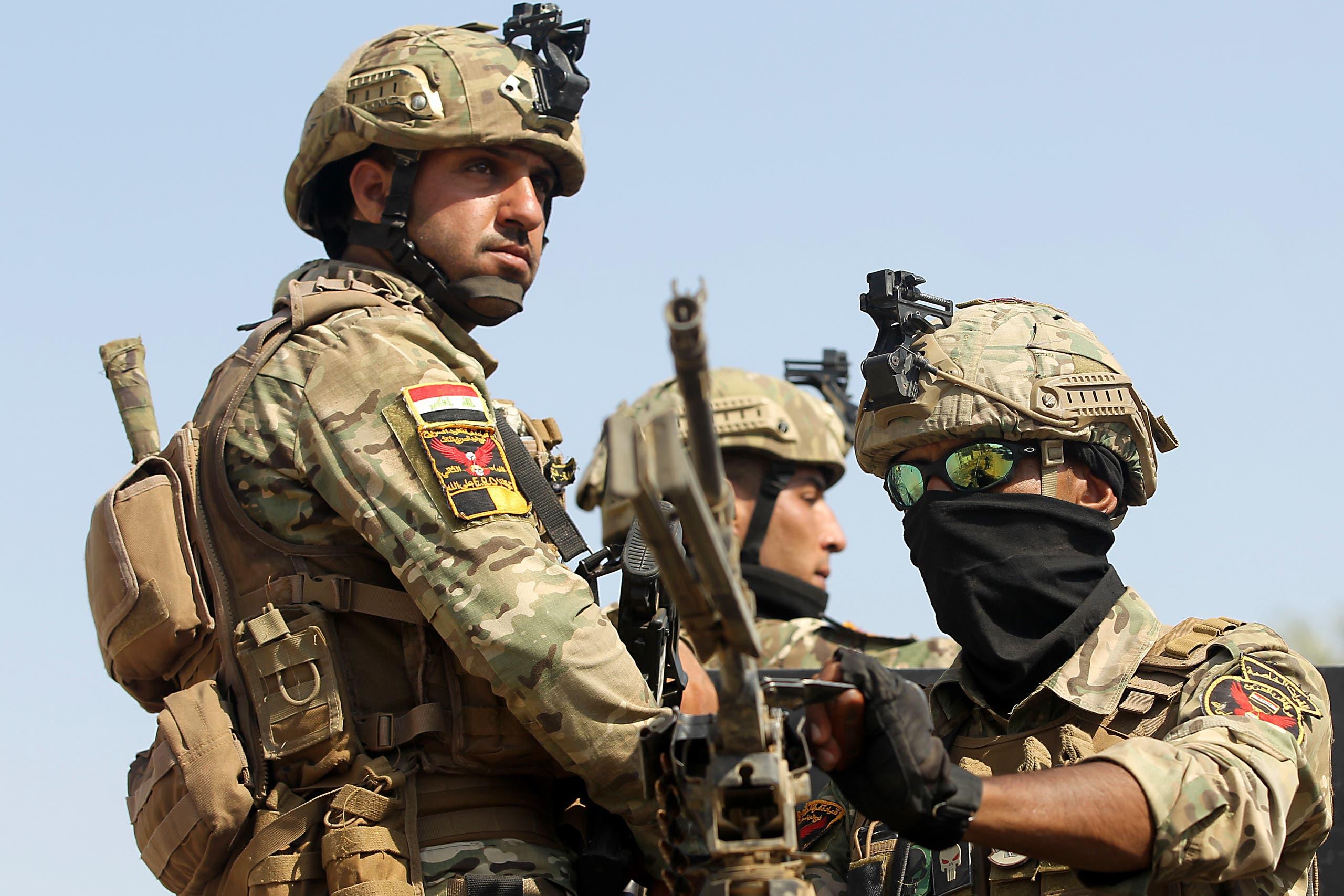 من قوات من الجيش العراقي (فرانس برس)