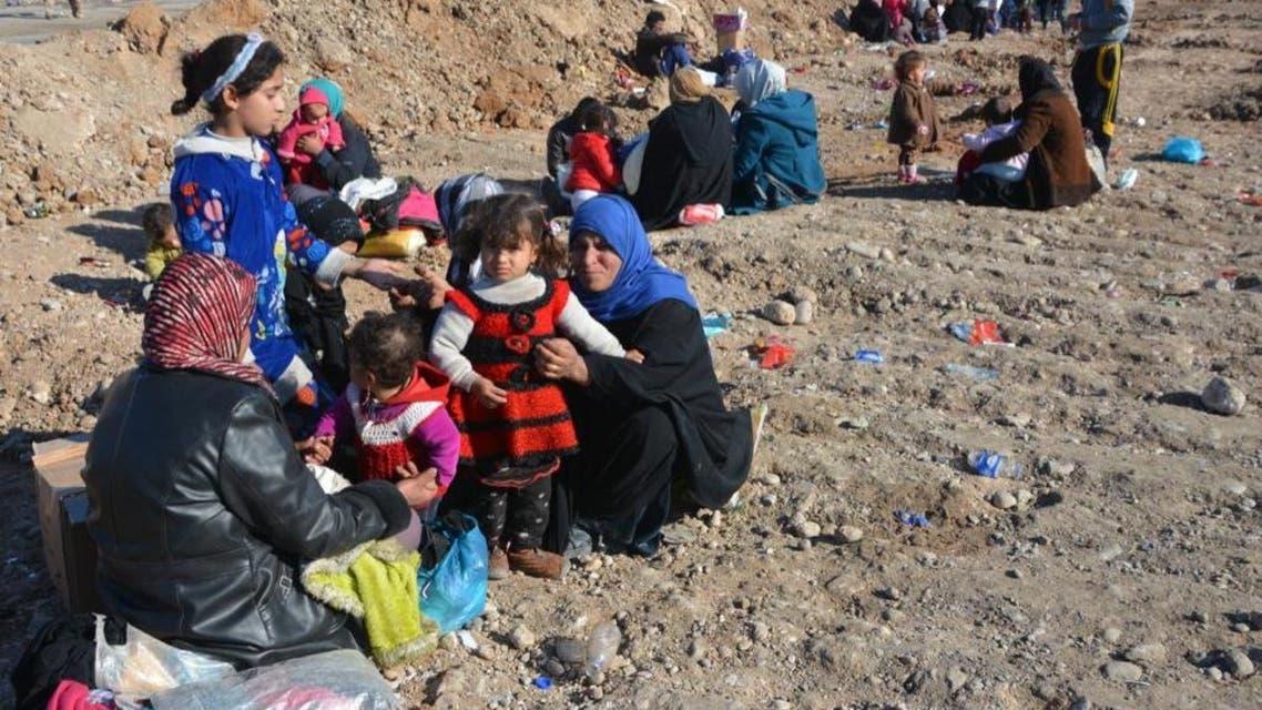 نازحون عراقيون (أرشيفية)