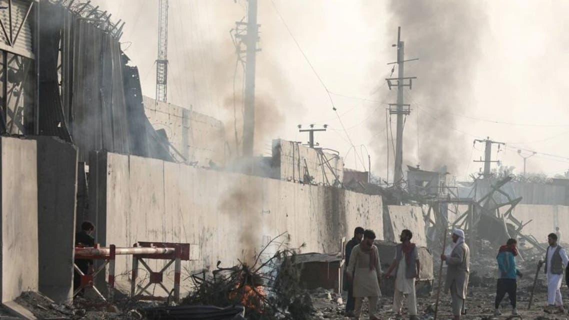 تظاهرات شهروندان کابل پس از حمله مرگبار انتحاری