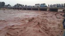 مراکش:سیلابی ریلا فٹ بال گرائونڈ میں داخل،8 افراد ہلاک