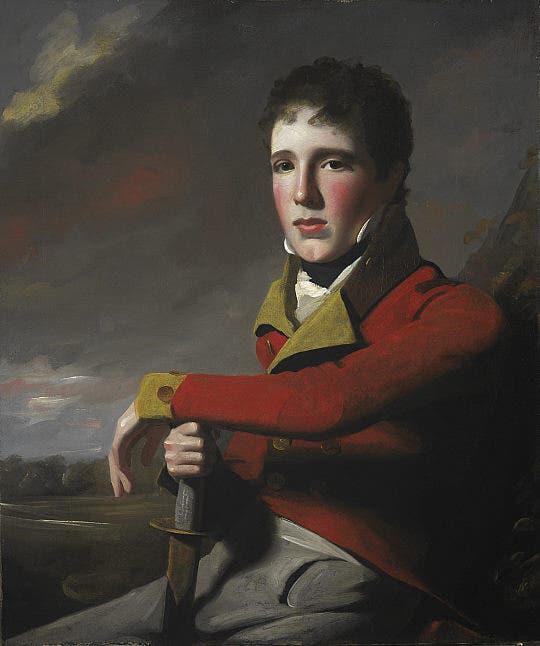 غريغور ماكغريغور أثناء عمله لصالح الجيش البريطاني