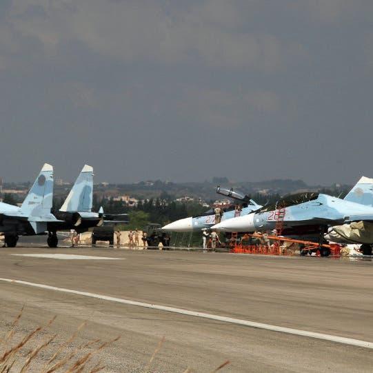 سوريا.. قاعدة حميميم الروسية تتصدى لقصف مجهول