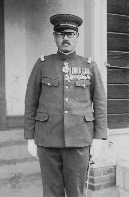 صورة للجنرال الياباني تاكاشي ساكاي