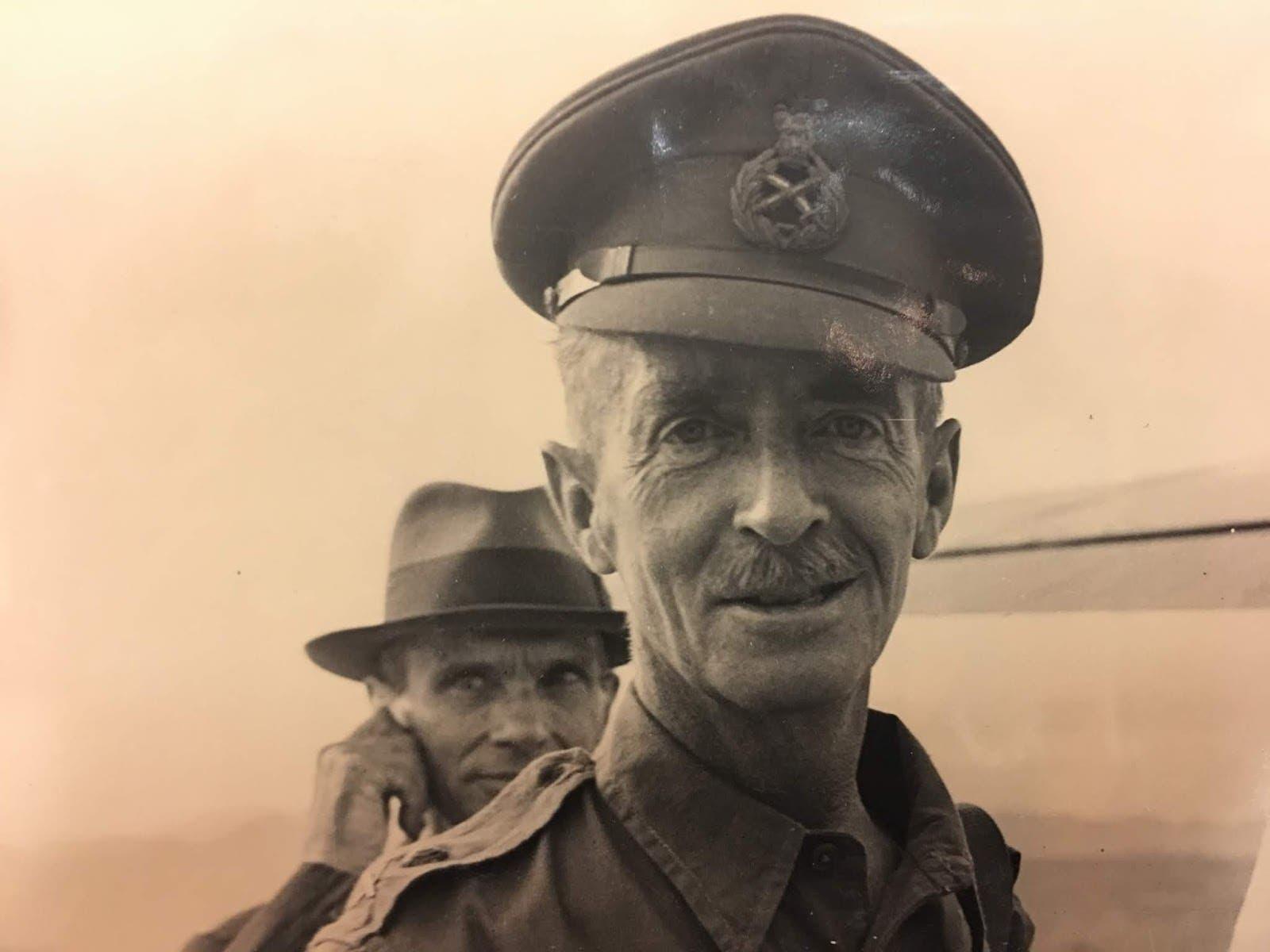 صورة للجنرال البريطاني كريستوفر مالتبي