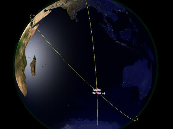 تغيير مسار قمر اصطناعي لتجنب اصطدامه بآخر