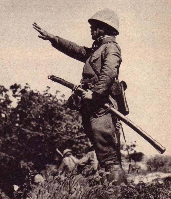 صورة لأحد الجنود اليابانيين