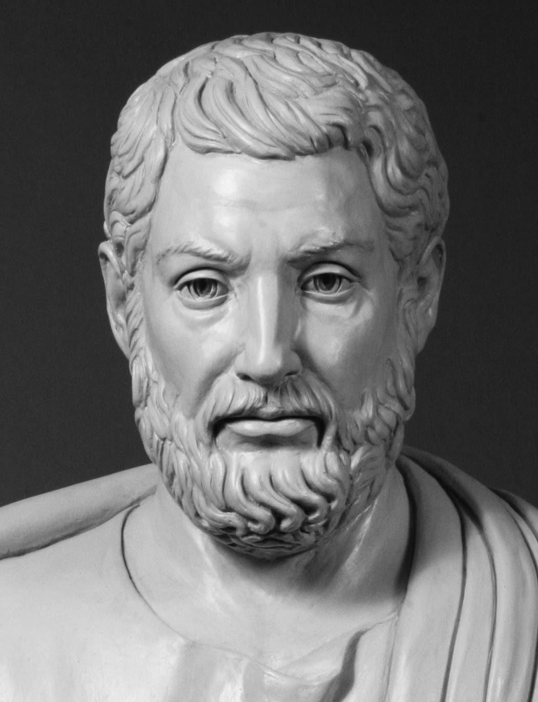 تمثال نصفي معاصر لكليسثنيس
