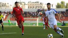 فلسطين تصعق أوزبكستان بثنائية في أولى جولات التصفيات