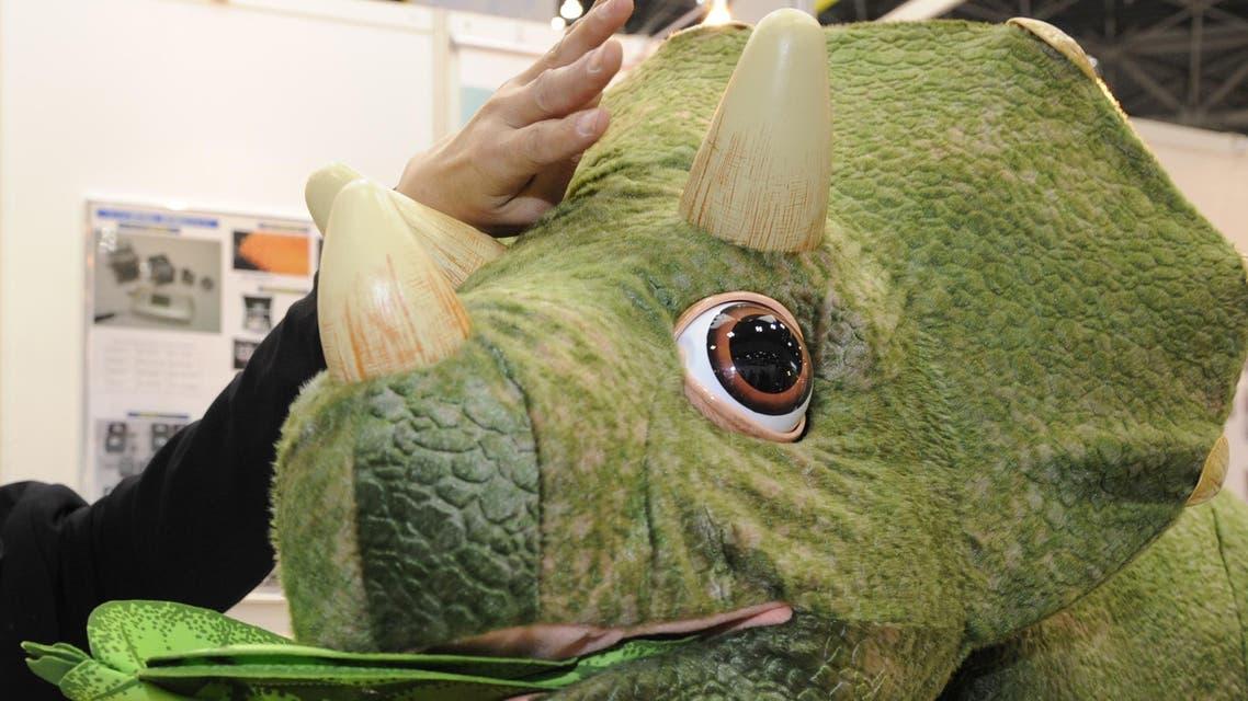 Japan dinosaur toy - AFP
