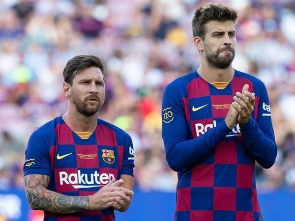 ميسي يملك بنداً في عقده يسمح له بمغادرة برشلونة.. وبيكيه غير قلق